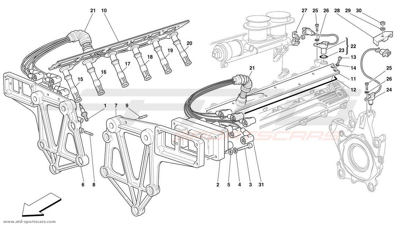 Ferrari F50 Engine Parts At Atd Sportscars