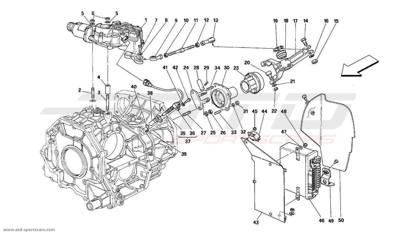 Ferrari Mondial T Electrical Parts At Atd Sportscars