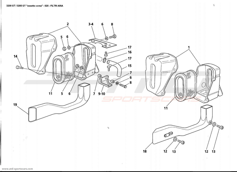 Maserati Gt Air Intake
