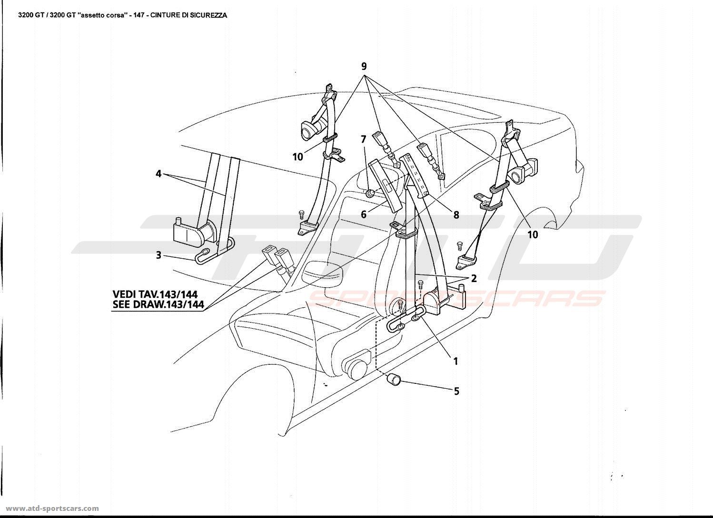 Maserati Gt Interior Parts At Atd Sportscars