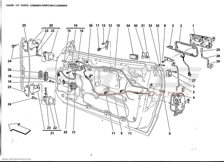 Maserati Gt Coupe Doors