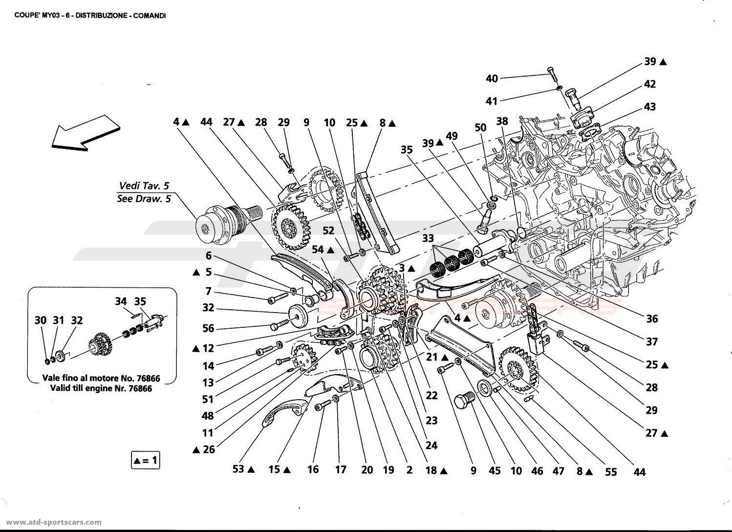 Hyundai Elantra Timing Chain Marks
