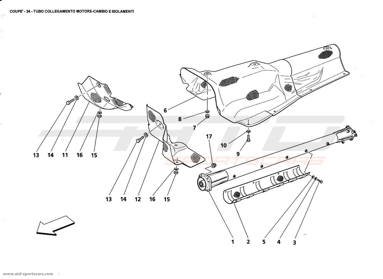 Maserati Gt Coupe Engine Transmission Connection