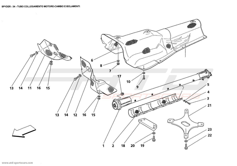 Maserati Spyder Body Parts At Atd Sportscars