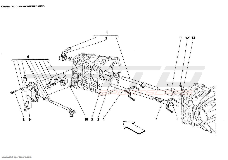 Maserati Spyder Gearbox