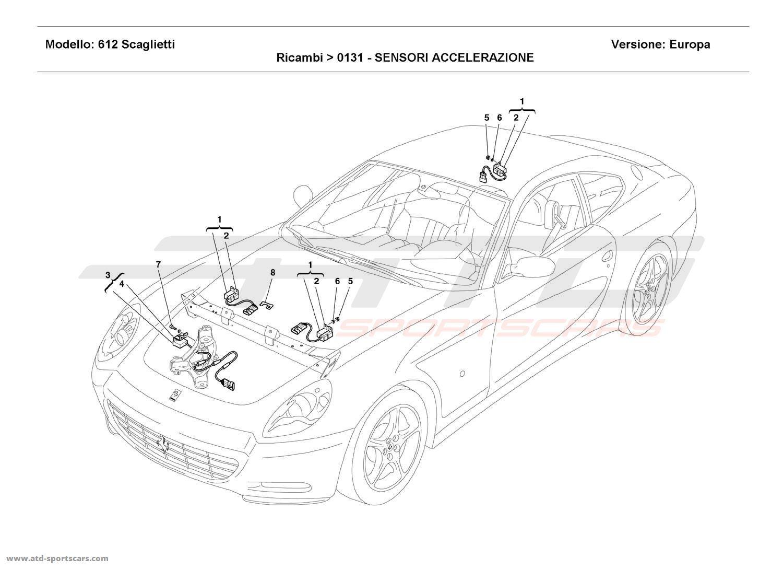 Maserati Spyder Engine Parts At Atd Sportscars