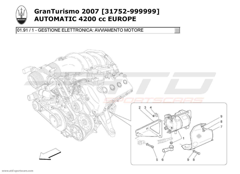 Maserati Granturismo 4 2l Boite Auto Electronic