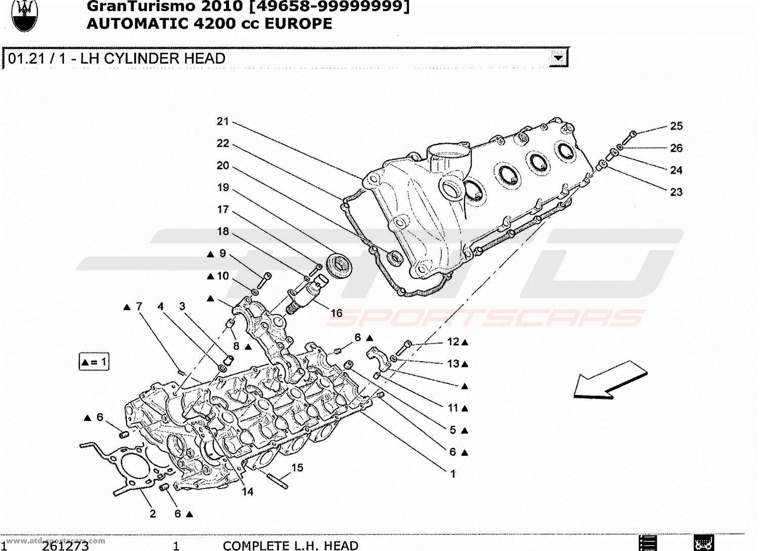 Maserati Granturismo 4 2l Boite Auto Engine Parts At
