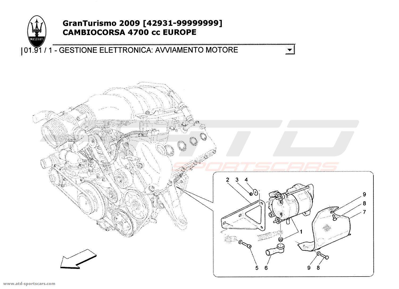Maserati Granturismo 4 7l Boite F1 Cooling
