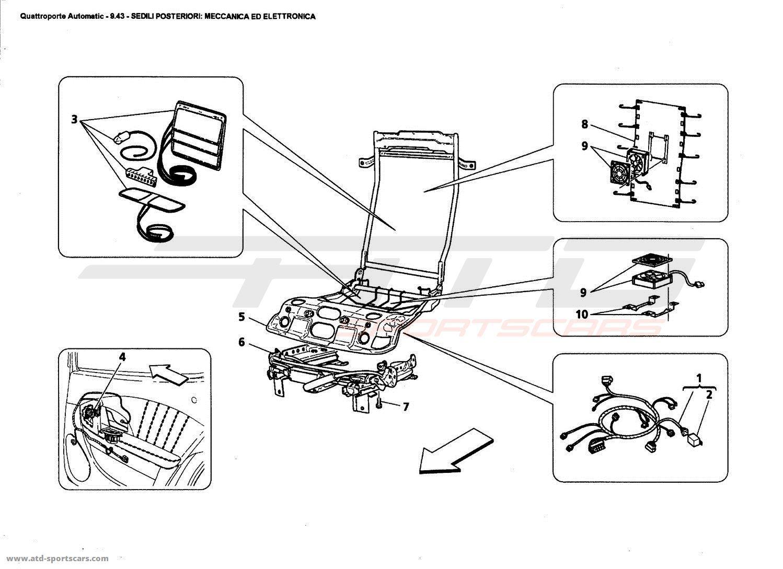 Maserati Quattroporte 4 2l Boite Auto Rear Seats