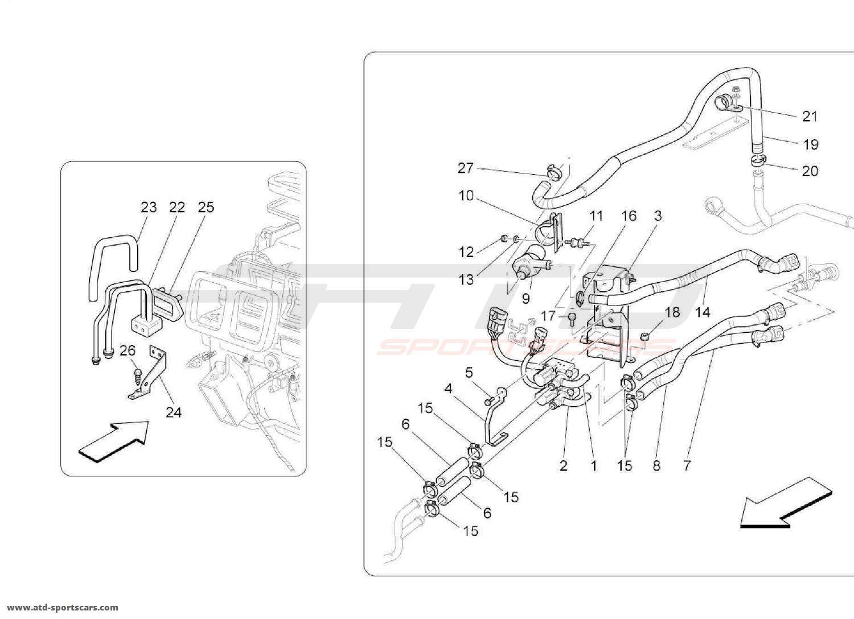 Maserati Quattroporte 4 2l Boite Auto Cooling