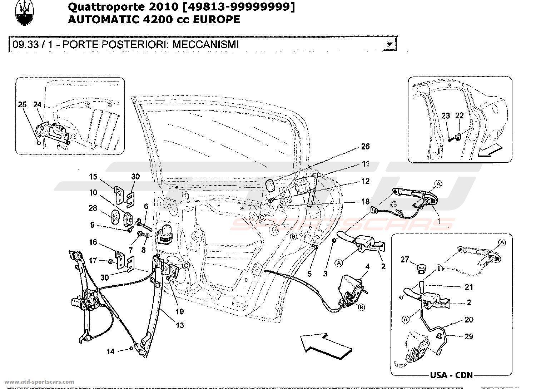 Maserati Quattroporte Body Kit