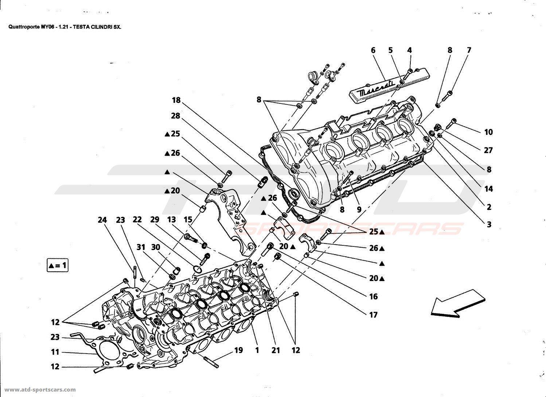 Maserati Quattroporte 4 2l Boite F1 Engine Parts At