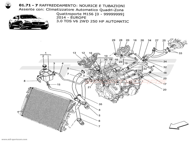 Maserati Quattroporte V6 3 0lsel Auto Cooling