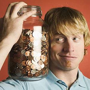 Image: Money jar (© Big Cheese Photo/PictureQuest)