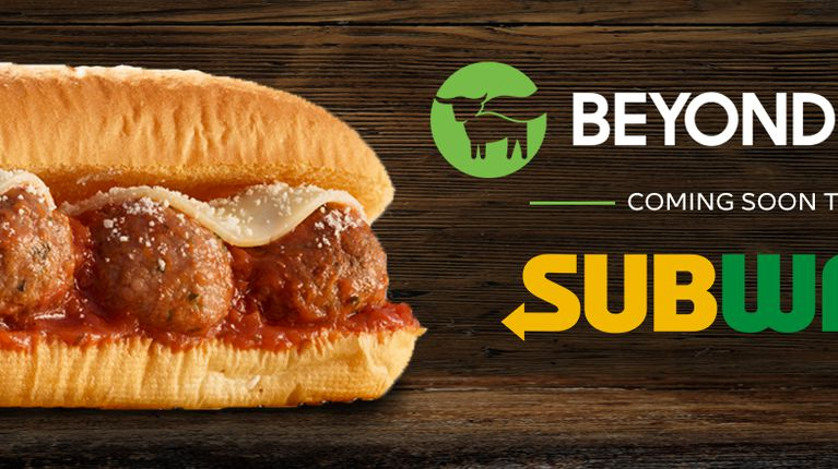Image result for SUBway beyond meat