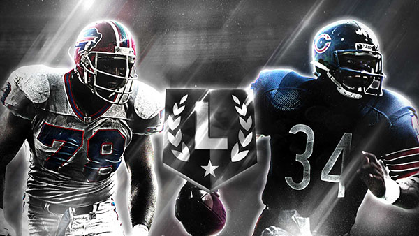 Ultimate Legends Bruce Smith And Walter Payton News Muthead