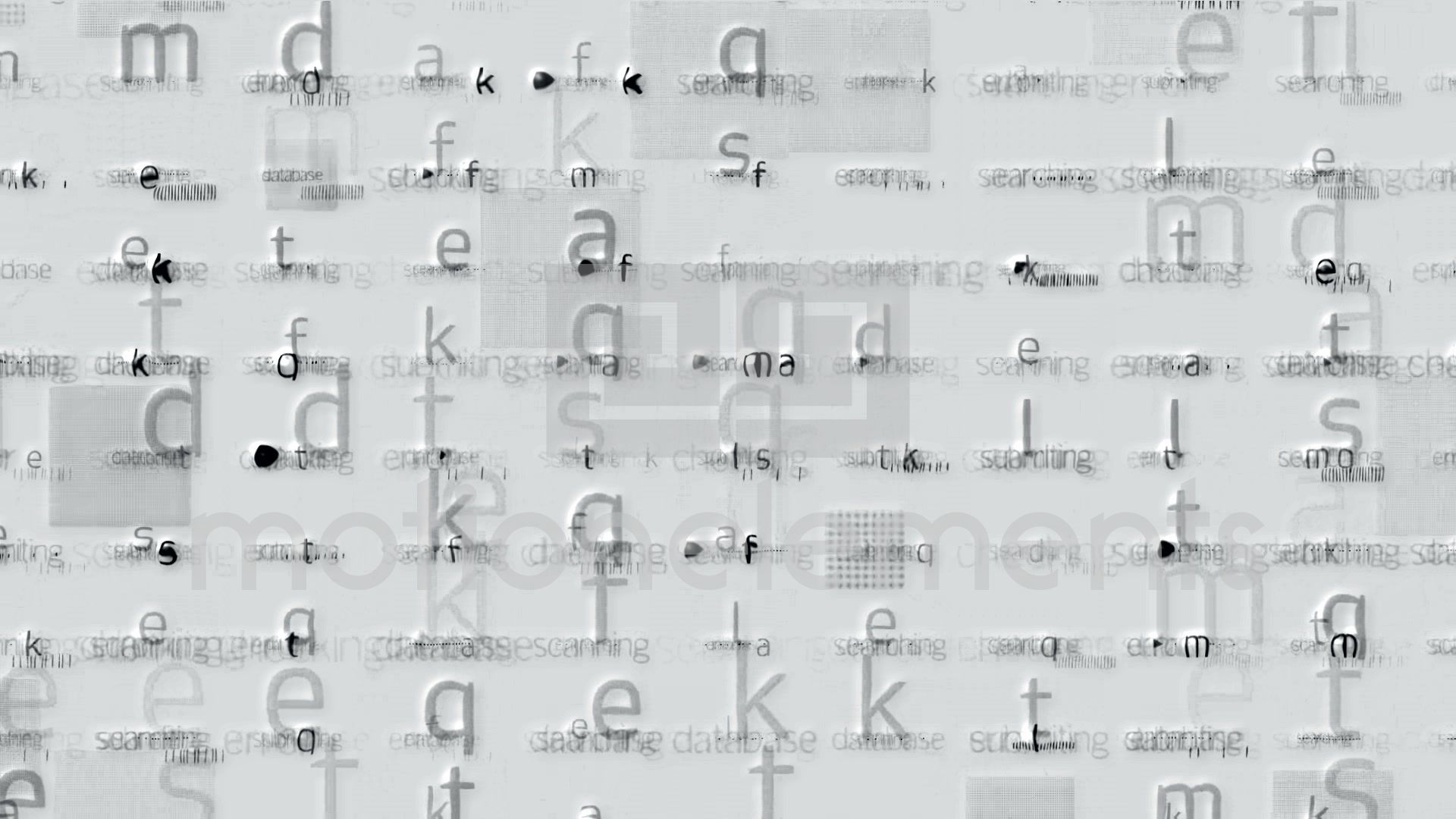 Letter Matrix Background Alphabet Computer Screen Tech