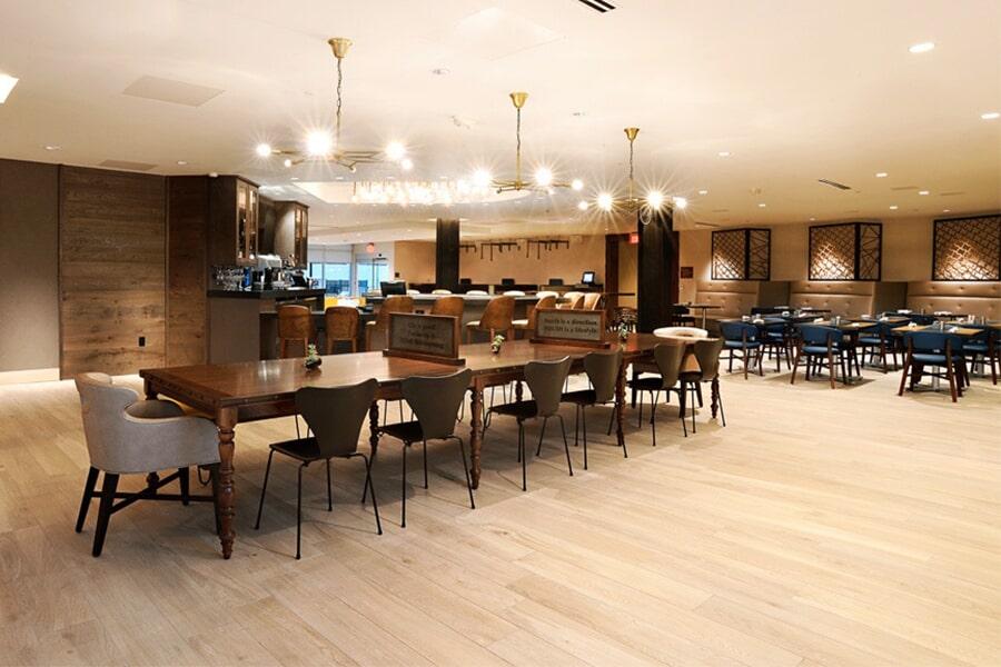 commercial flooring lighting in san
