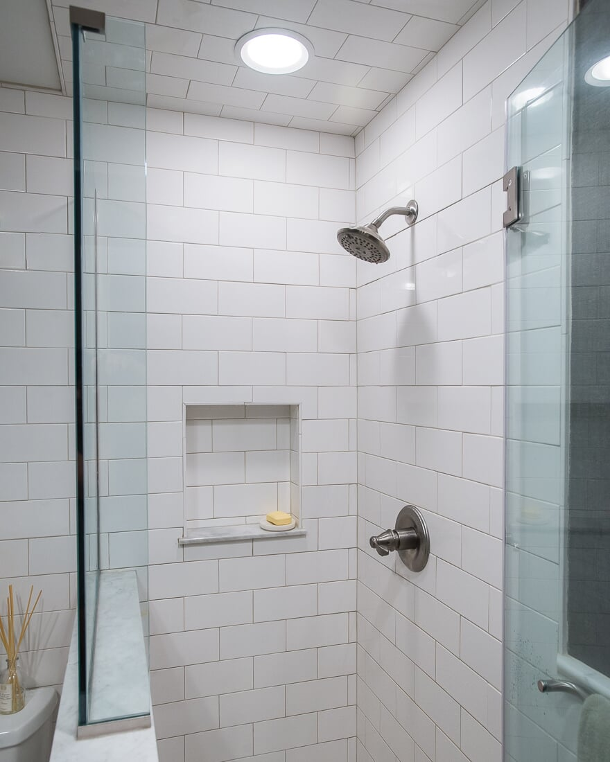 floors subway tile shower batavia il
