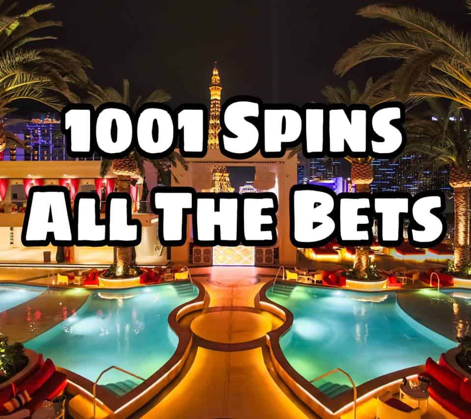 1001 Spins - All the bets