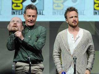 Breaking Bad Panel at Comic-Con