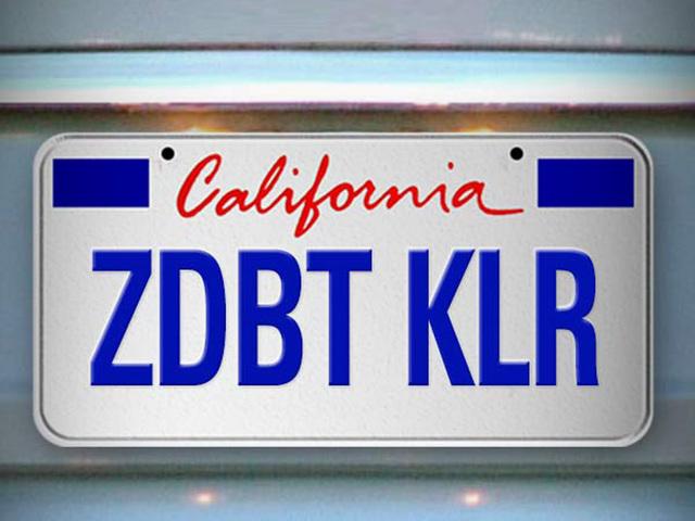 zombie debt killer license plate dmv