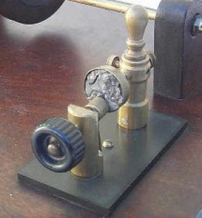 photo of 1900's detector