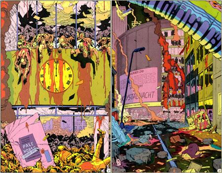 Αποτέλεσμα εικόνας για the Watchmen ending comic