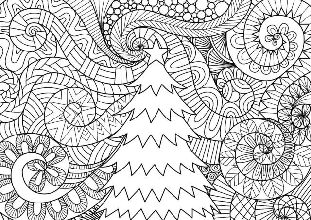 Christmas Coloring Pages for Kids & Adults: 30 Free Printable