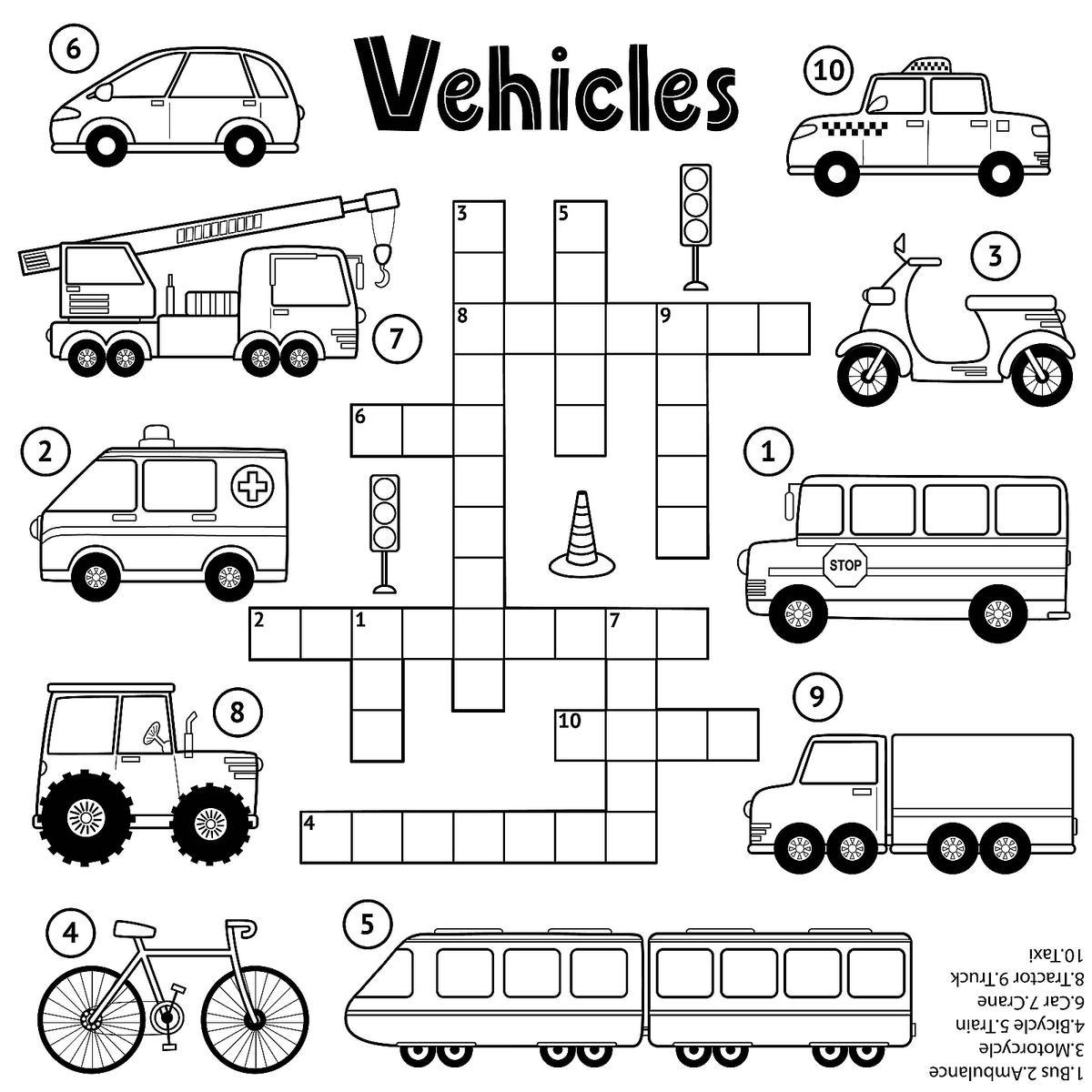 Crossword Puzzles For Kids Fun Amp Free Printable Crossword