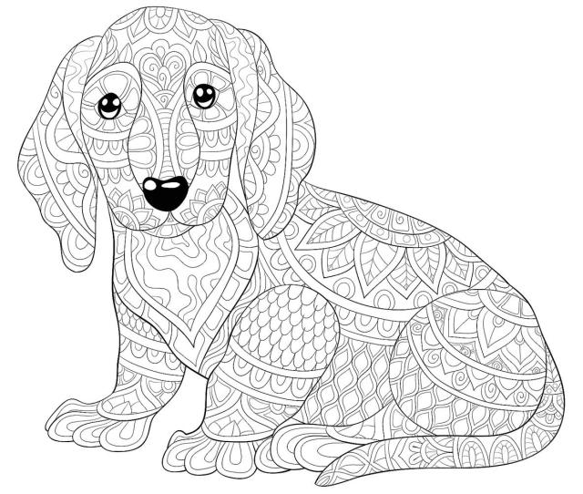 Dog Coloring Pages Printable Coloring Pages Of Dogs For Dog
