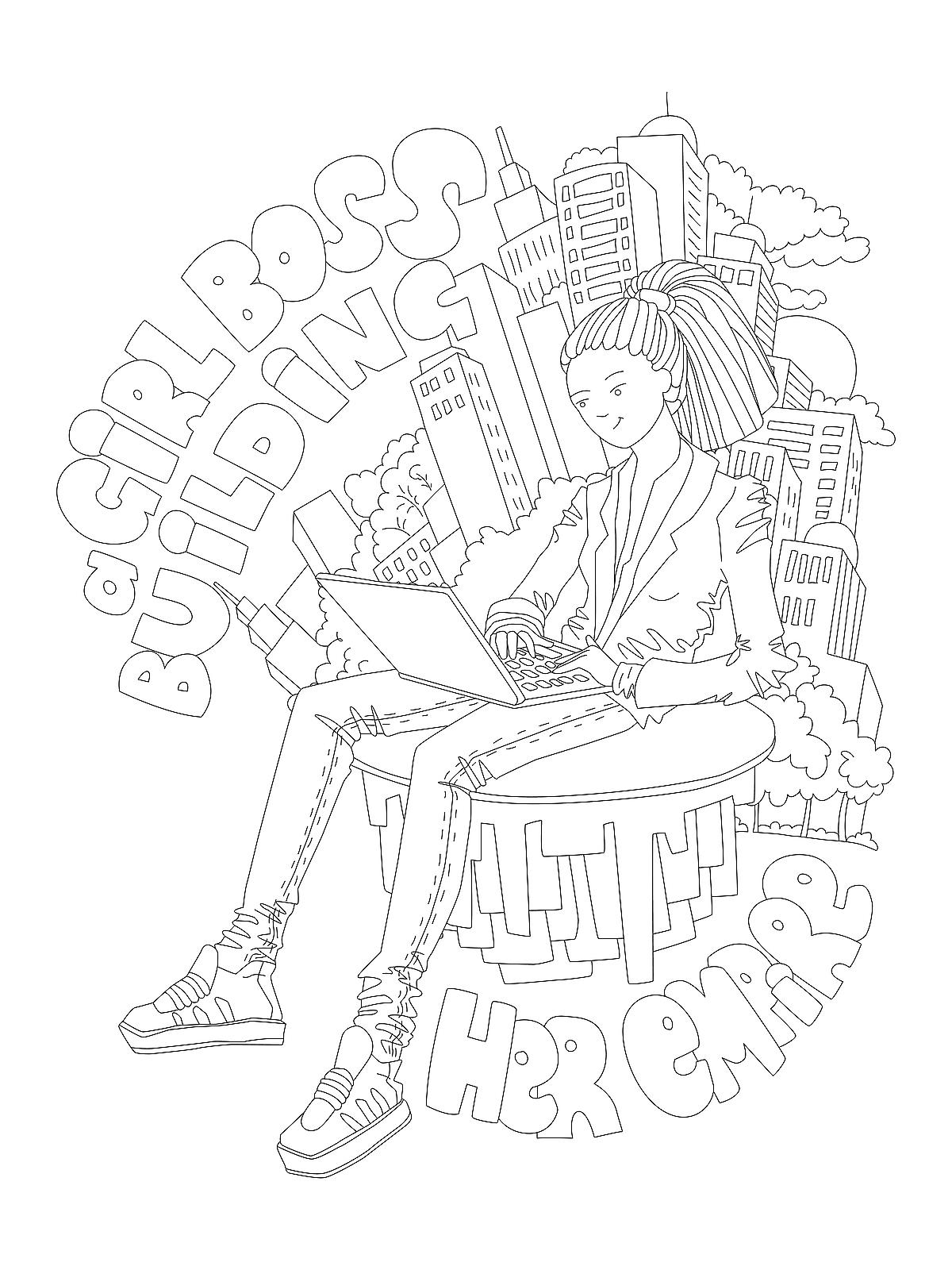 Coloring Pages For Womens History Month