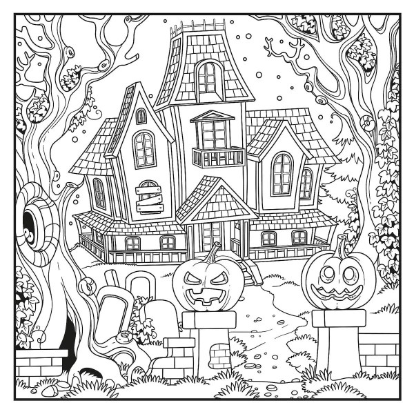 coloring halloween pages # 36