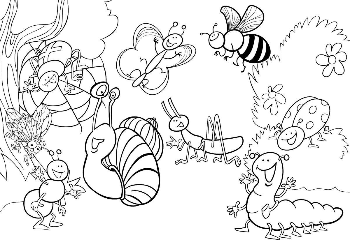 Insect Coloring Pages Free Fun Printable Coloring Pages Of Bugs For Kids Printables 30seconds Mom
