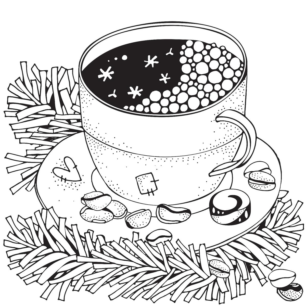 Winter Puzzle Amp Coloring Pages Printable Winter Themed