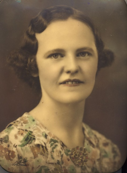 My Nan - vintage photo on 365 Project