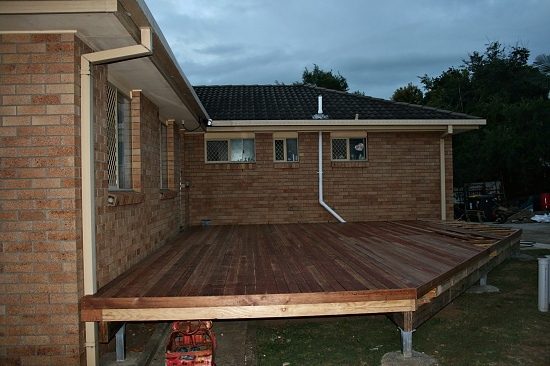 The deck goes on on 365 Project