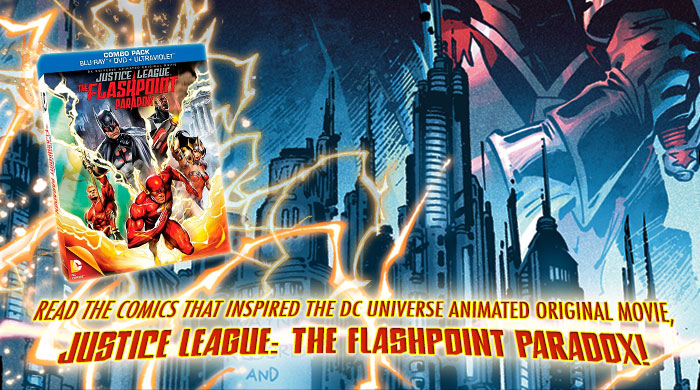 READ THE COMICS - JUSTICE LEAGUE - THE FLASHPOINT PARADOX
