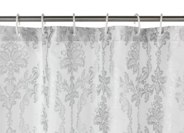 buy argos home le marais shower curtain silver shower curtains argos