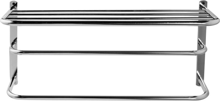 buy argos home 2 tier wall mountable towel rail with shelf towel rails and rings argos
