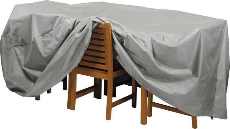 buy argos home deluxe oval patio set cover garden furniture covers argos