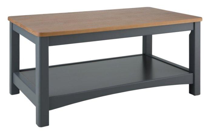 buy habitat bournemouth coffee table dark grey coffee tables argos