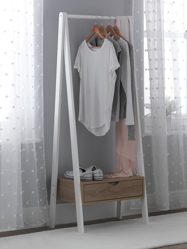 clothes rails canvass wardrobes