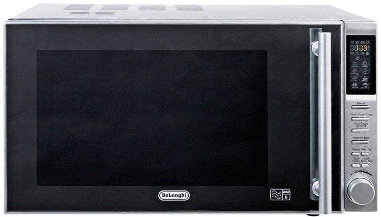 buy de longhi 900w standard microwave p90b1b stainless steel microwaves argos