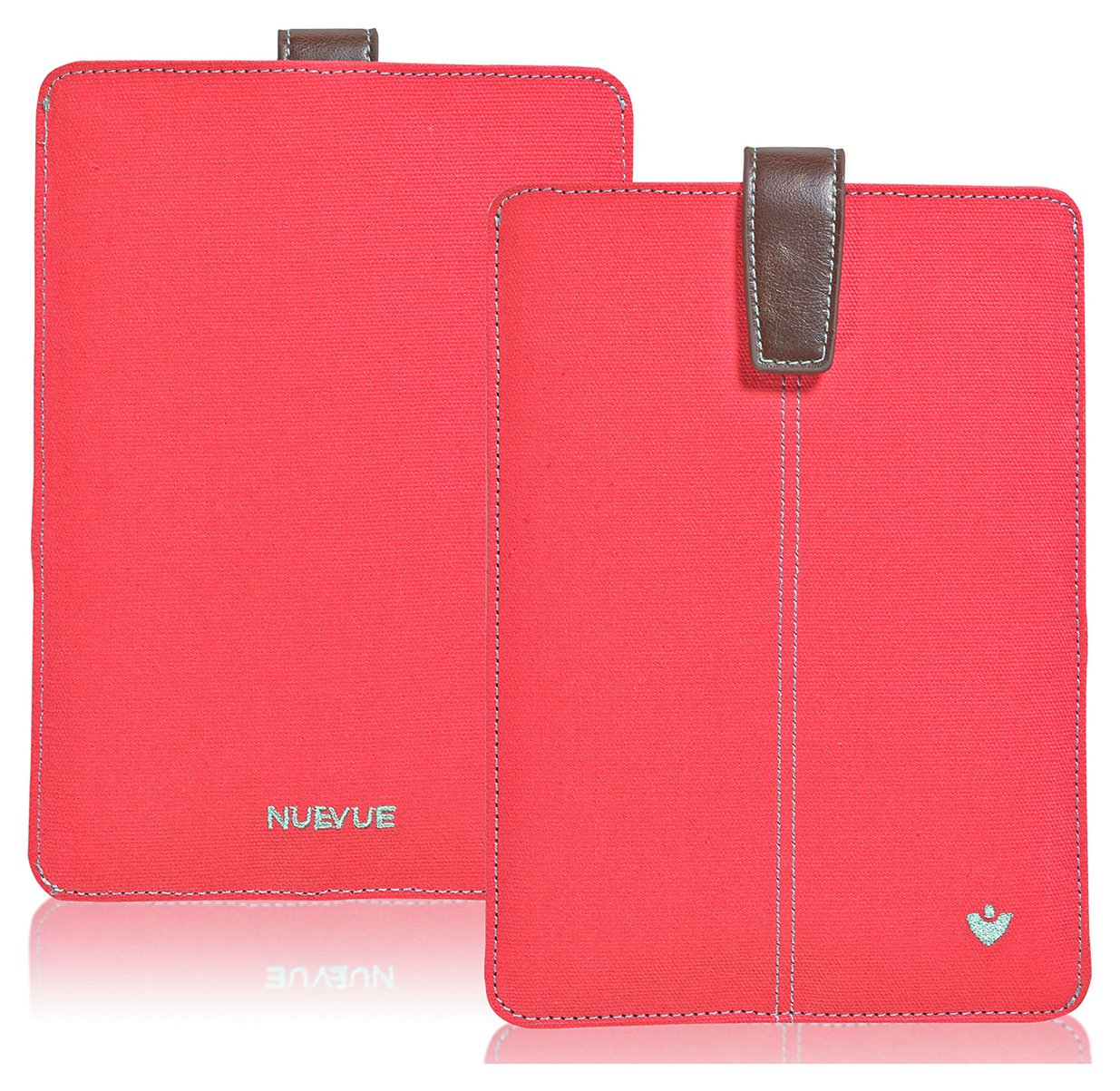 SALE On NueVue Canvas Coral Apple IPad Mini Case Pink