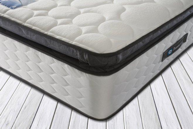 buy sealy repose memory foam pillowtop kingsize mattress mattresses argos