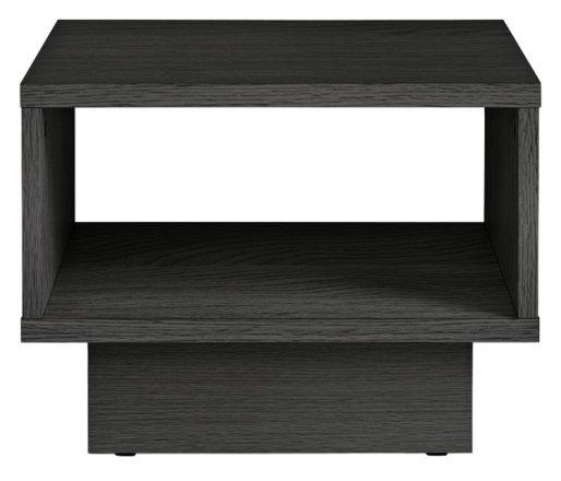 buy habitat cubes 1 shelf end table black side tables argos