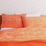 Habitat Noah Orange Duvet Cover Set Kingsize 7364268 Argos Price Tracker Pricehistory Co Uk