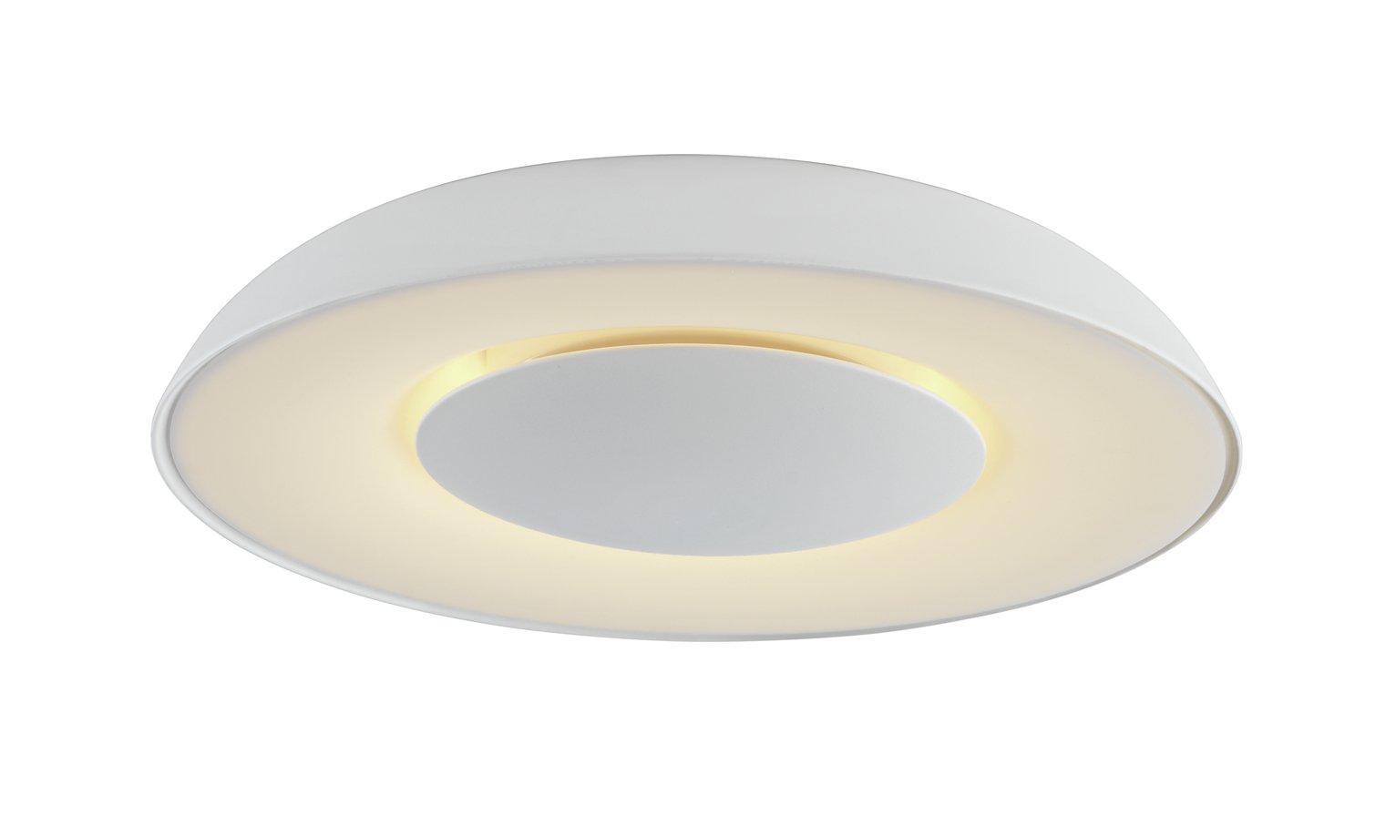 Argos Home Larne Led Flush Ceiling Light White 7928738 Argos Price Tracker Pricehistory Co Uk